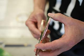 工程.5 コパテープ(銅箔のテープ)を巻く